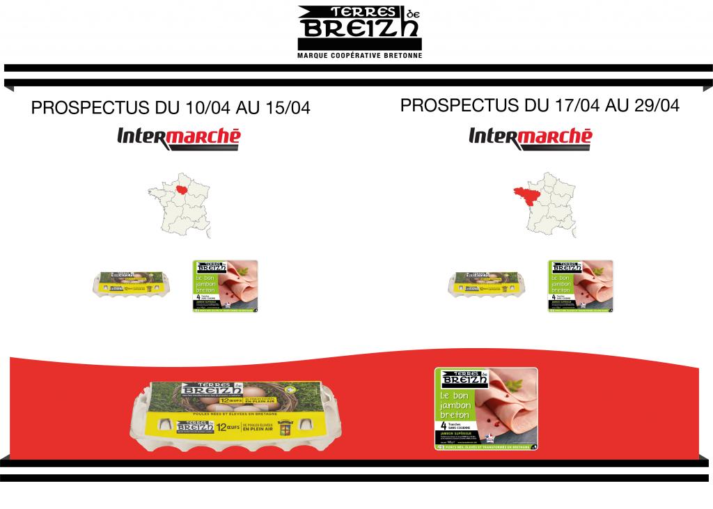 Promotions oeufs et jambon Terres de Breizh - 1