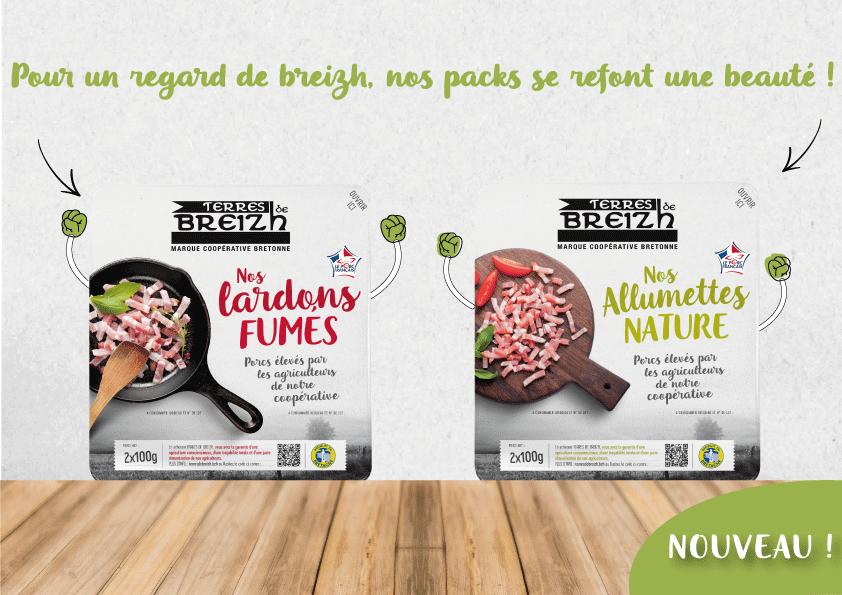 Nos packs lardons et allumettes Terres de Breizh se refont une beauté !