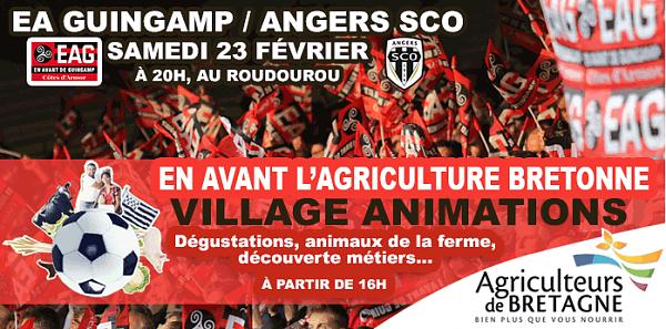 Terres de Breizh vous fait gagner des places pour le match EAG - Angers !
