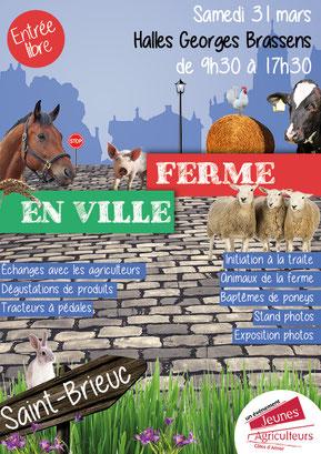 """Terres de Breizh vous donne rendez-vous à """"Ferme en ville"""" !"""