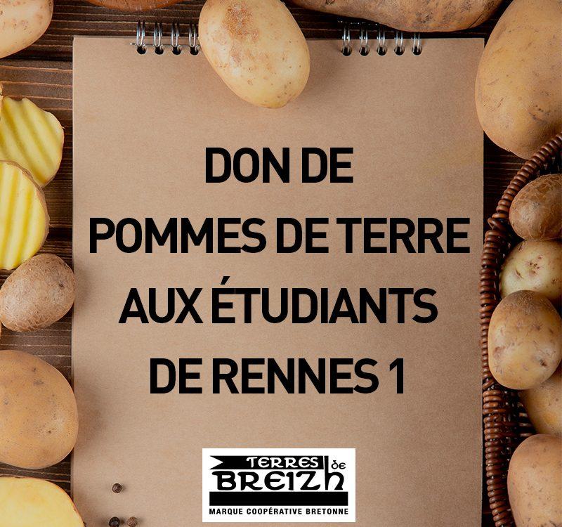 Pencarte don pommes de terre étudiants - terres de breizh